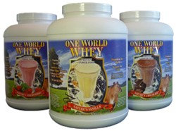 Synergistic Nutrition One World Whey - 5lb
